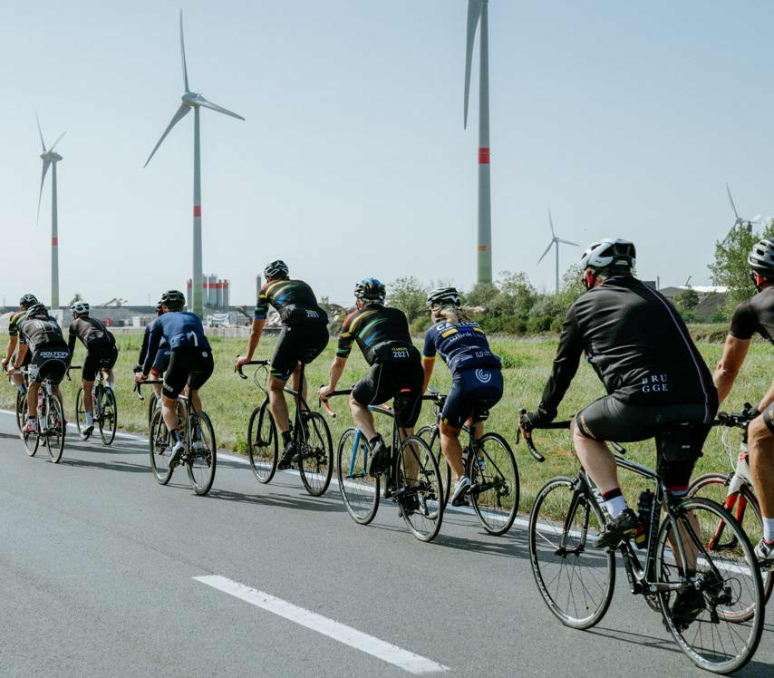 Flanders takes important steps towards sustainable UCI Road World Championships