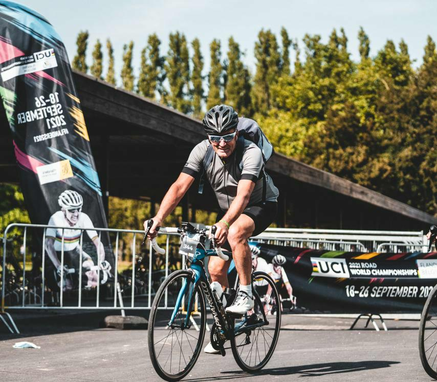 UCI Road World Championship roads now officially warmed up by the Flanders 2021 Ride Knokke-Heist – Brugge