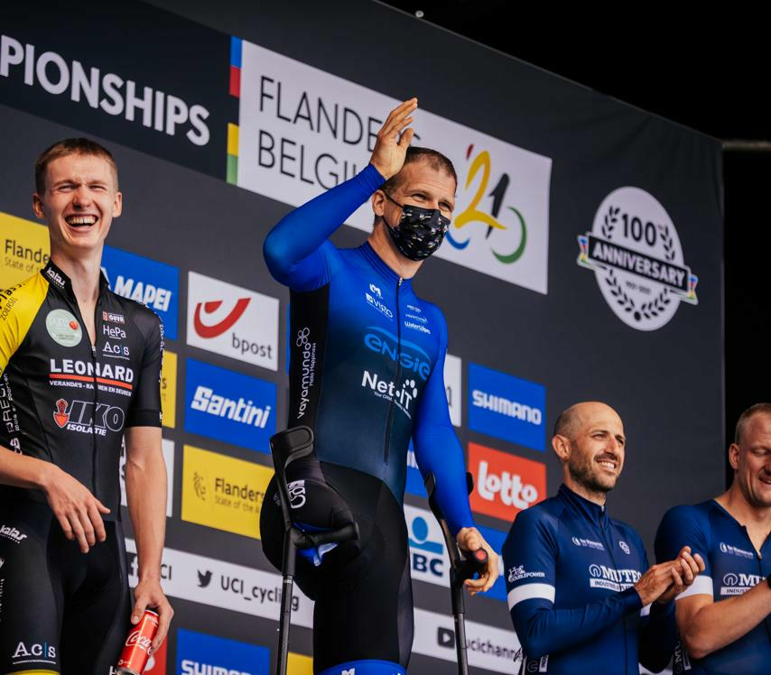 Open Flemish Championship Para-cycling ended on a high with Flanders 2021 Para-cycling Race