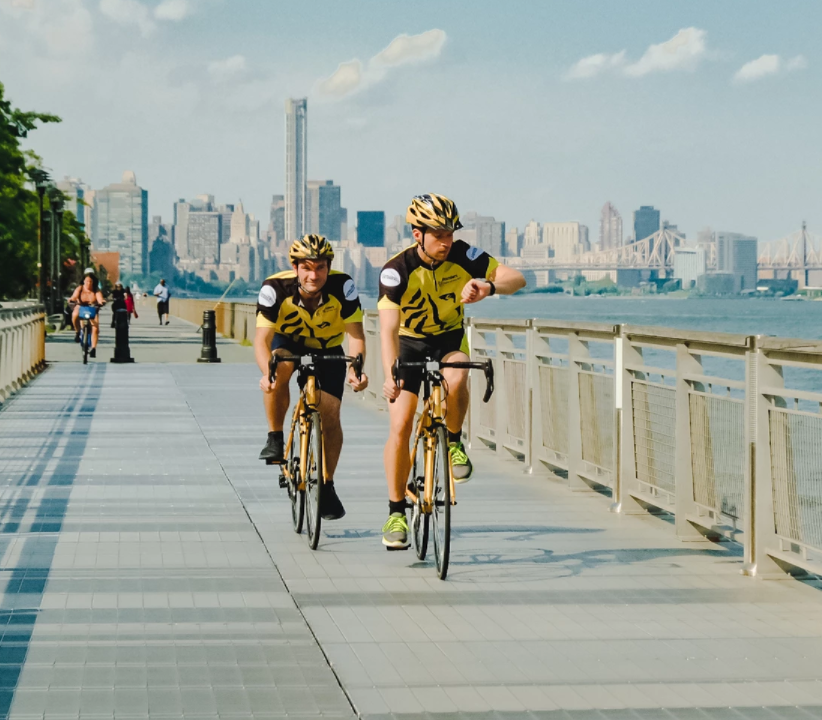 Flemish cycling craze reaches New York with spectacular flash mob