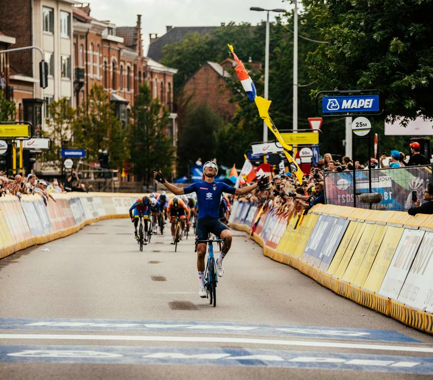 Baroncini secures Italy 2nd World Championships gold