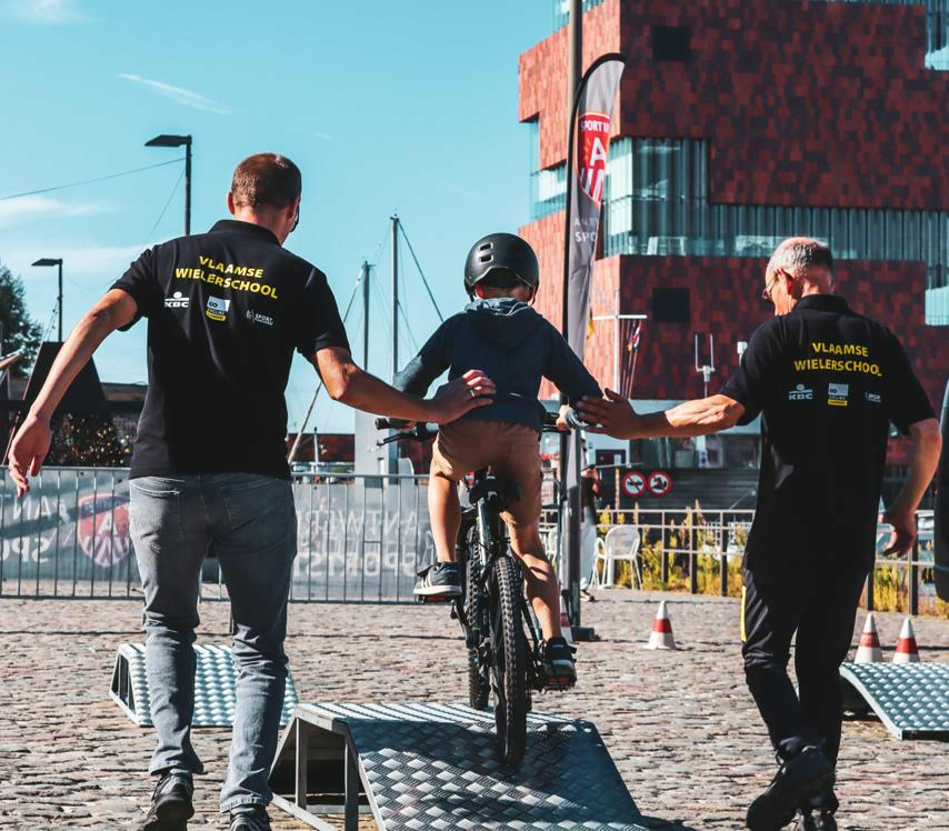 Flanders 2021 Ride Antwerp: a cycling festival for young and old!