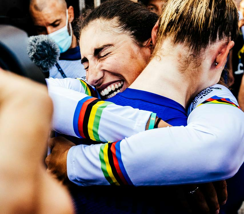 3rd UCI Road World Championship gold for Italy after Elisa Balsamo's win