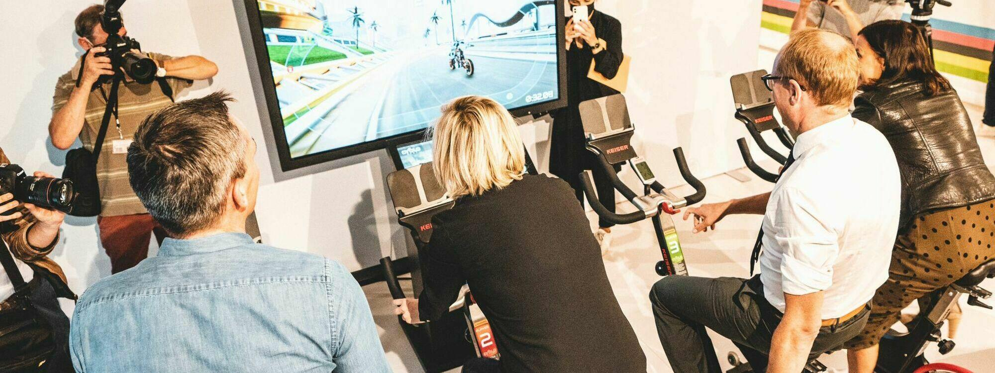 Explore the future of cycle racing